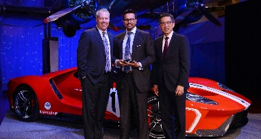 Ford presta homenagem à Axalta Coating Systems