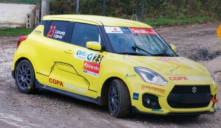 Interescape desenvolve escape para Suzuki Swift Sport
