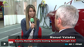 Manuel Valadas, Country Manager Axalta Coating Systems Portugal